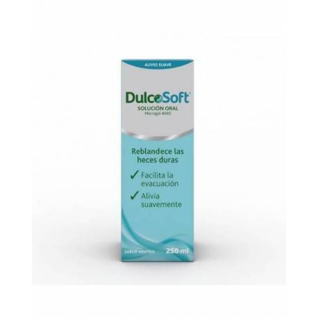 DulcoSoft Macrogol 4000 Solución Oral 250ml