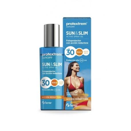 Protextrem sun & slim aceite seco factor 30