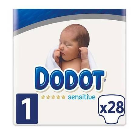 Dodot Sensitive R. Nacido T/1 2-5kg 28 U