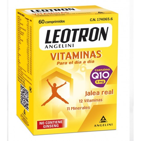Leotron Vitaminas jalea real 60caps