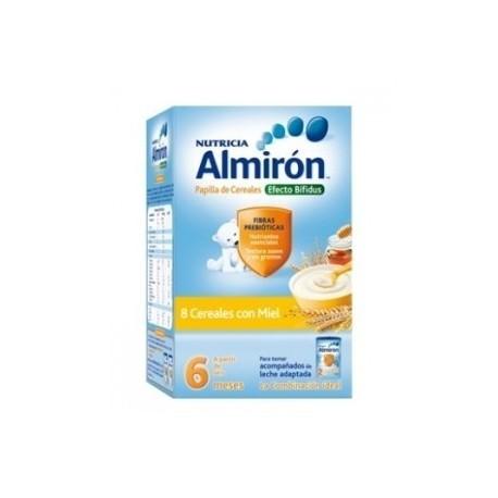 almiron 8 cereales miel 600 gr.