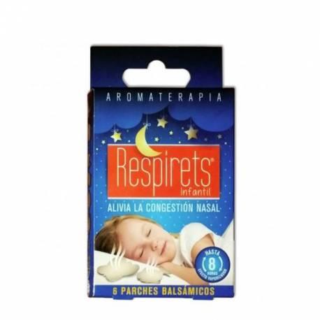 Respirets Infantil 6 Parches Balsámicos