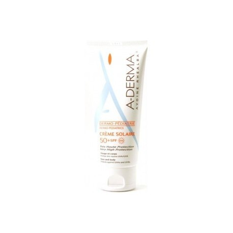 aderma crema solar pediatrica 50+ 100 ml
