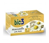 Bie3 Manzanilla Anís Infantil 25 Bolsitas