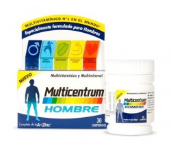 multicentrum hombre 30 comprimidos