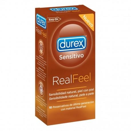 preserva.durex sensitivo real feel 10uds