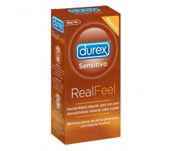 preserva.durex sen real feel s/latex 10u