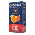 CONTROL 2IN1 FINISSIMO PRESERVATIVO+GEL 6 KIT
