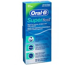 oral-b ultra floss hilo dental