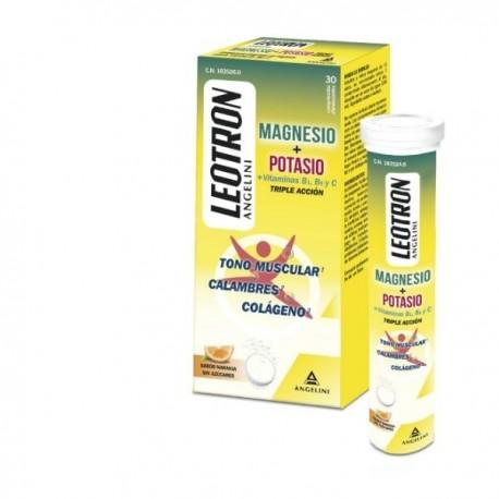 Leotron Magnesio + Vit.b1 y b6 Energia Musculos Huesos 30 compr.
