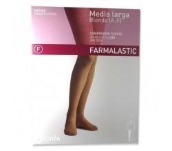 Farmalastic Media Larga Comp. Fuerte T-Reina Plus P-Izquierda