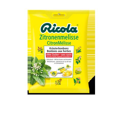 ricola caramelos limon-melisa bolsa 70 g