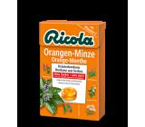 ricola caramelos naranja menta s/a 50 g