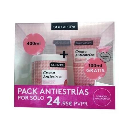 Suavinex Crema Antiestrias 400 ml + 100 ml