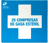 interapothek compresas gasa esteril c/25