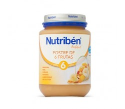 nutriben junior postre de frutas 200gr.