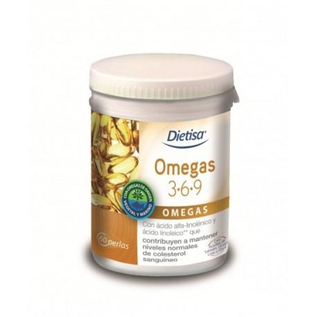 Omegas 3.6.9. 60 Perlas