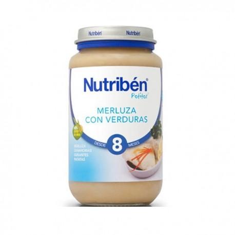nutriben grandote merluza/verdura 250gr.