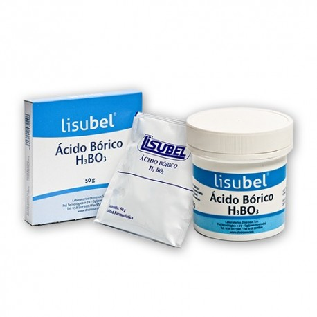 acido borico distrosur bolsa 50 gr.