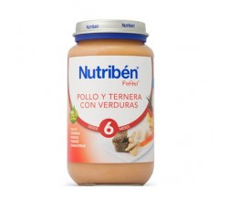 nutriben junior pollo/terne/verdur 200gr