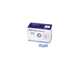 aguja para plumas esteril bd 31 g (0.25 mm x 8 mm) 100 u/caja