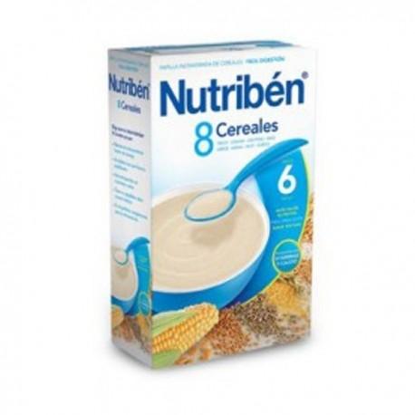 nutriben 8 cereales 300 gr.