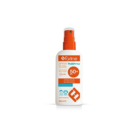 farline spray pediatrico proteccion 50+ 200 ml