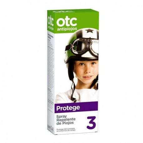 OTC Antipiojos Spray Repelente de Piojos 125ml