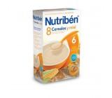 nutriben 8 cereales miel 300 gr.