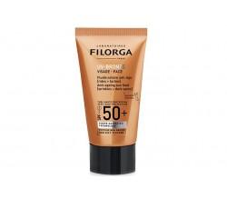 Filorga Solar UV-Bronze Fluido Rostro Antiedad SPF50+ 40ml