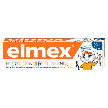 elmex pasta dental infantil 50 ml.