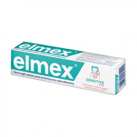 elmex pasta dental sensitive plus 75 ml.