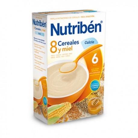 nutriben 8 cereales y miel calcio 300 g.