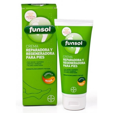 funsol crema reparado/regeneradora 100ml