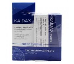 Kaidax Pack Anticaída Kaidax Cahmpú 200ml y Kaidax Forte 60 Cáps