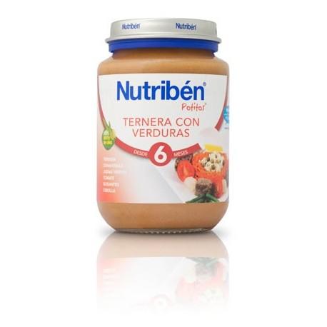 nutriben bebe ternera verduras 130gr.
