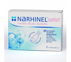 narhinel confort recambio 20 uds.