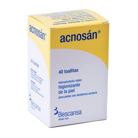 ACNOSAN TOALLITAS 40 UDS