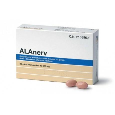 ALANERV 20 CAPSULAS