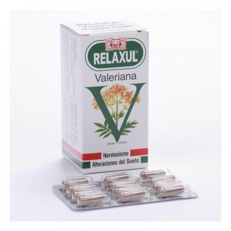 relaxul valeriana 48 capsulas la leonesa