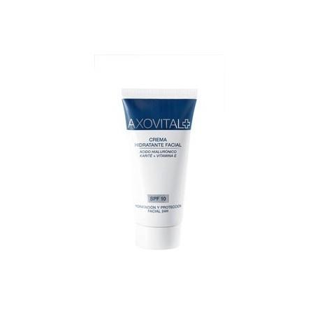 axovital crema hidratante facial spf 10 50ml
