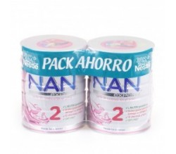 NAN 2 PACK AHORRO 2 X 800GR