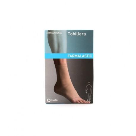 tobillera farmalastic t.med. 21 a 24 cm