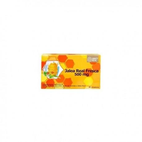 arkoreal jalea real 500 mg. 20 ampollas