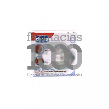 Chicco® protegepezón silicona t-pequeña 2uds