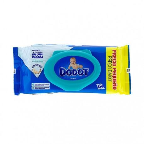 Dodot Azul toallitas humedas bebé 64uds