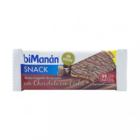 Bimanan Snack Choco Con Leche 1 Unidad