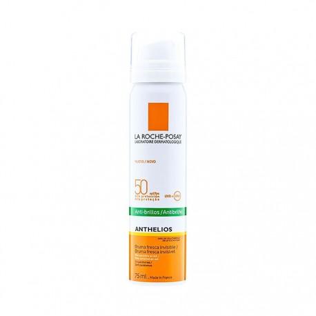 La Roche-Posay Anthelios SPF50 Bruma Invisible Facial Antibrillo 75ml