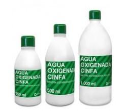 agua oxigenada cinfa 250ml.