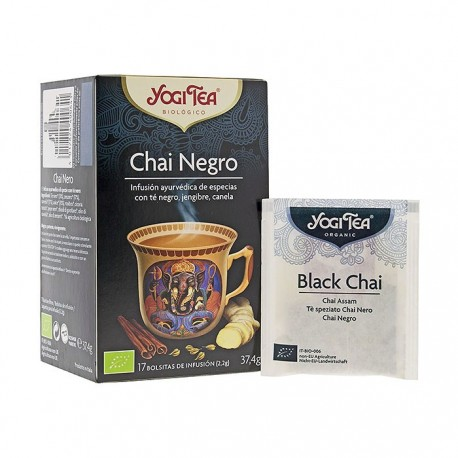 Yogi Tea Infusión Chai Negro 17 Bolsitas